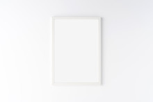 Photo Frame With Copyspace Isolated On White Background