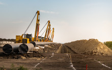Construction Of A New Gas Pipeline.