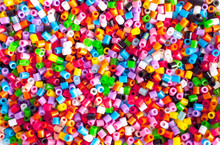 Bright Colorful Plastic Perler...