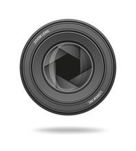 Aperture Icon. Camera Shutter Lens Diaphragm Row