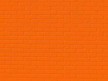 Orange Brick Texture Background