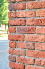 Brick Wall Corner Edge