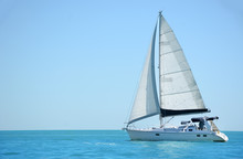 Sailboat In The Gulf