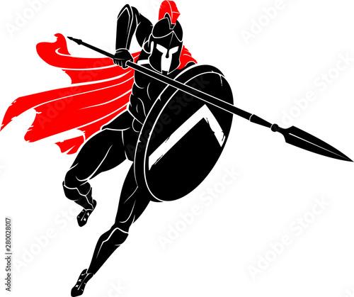 Spartan Deadly Pierce Fototapete