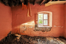 Interior Of An Old Abandoned R...