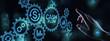 canvas print picture - Cash flow button on virtual screen. Business Tehcnology concept.