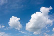 View On Beautiful Cumulus Clou...