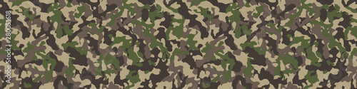 Fotografija Camouflage background. Seamless pattern.Vector. 迷彩パターン