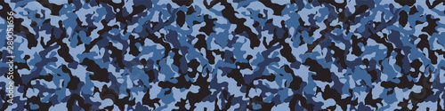 Cuadros en Lienzo Camouflage background. Seamless pattern.Vector. 迷彩パターン