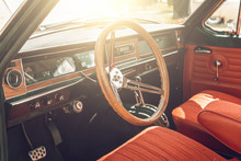 Classic Retro Or Vintage Car I...