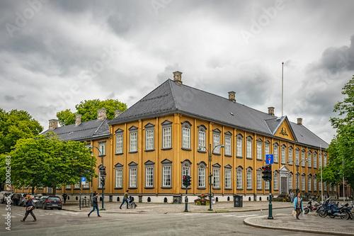 fototapeta na drzwi i meble Trondheim Stiftsgarden Palace