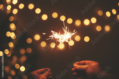 Fotomural  Happy New Year