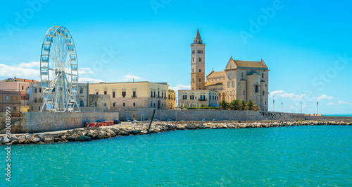 Photo Trani waterfront with the beautiful Cathedral