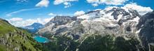 Alpine Dolomites Landscape, Italy.