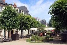 Place Foire Le Roi, Tours, France.
