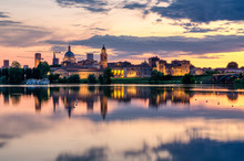 View Of The City Of Mantua At ...