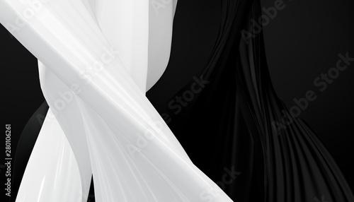 Fotografie, Obraz  Luxury background abstract shape