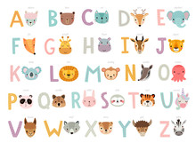 Funny Animals Alphabet For Kid...
