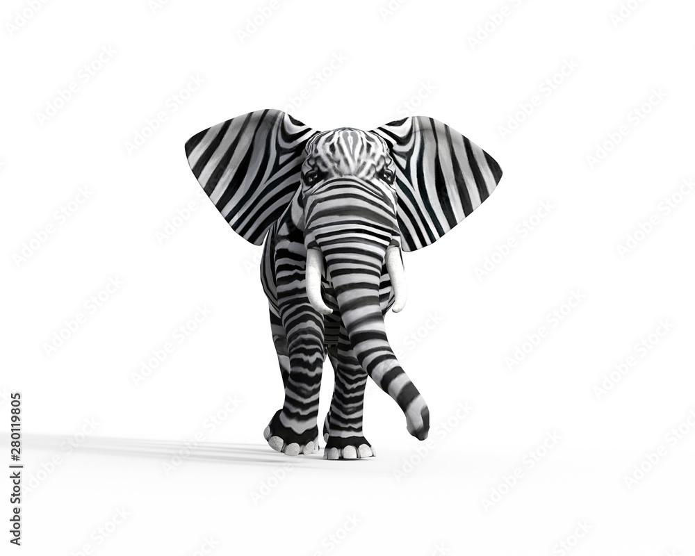 Fototapeta Elephant be different