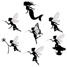 Fairy Silhouette Collections I...