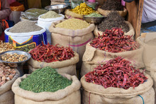 Bags And Sacks With Spices, Se...