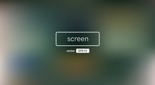 Abstract Blurred Gradient Background. Green Color. Unfocused Style Bokeh. Colorful Editable Mesh. Soft Pastel Colored Blur. Minimal Modern Style. Beautiful Template. EPS10 Vector Illustration.