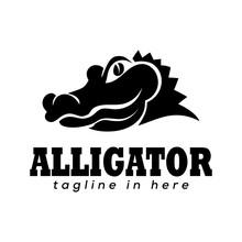 Head Elegant Crocodile Logo Design Inspiration