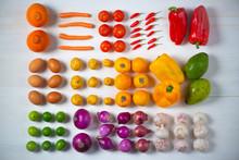 Vegetales Alimentos Escala De ...