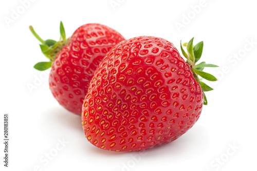 Strawberry fruit closeup