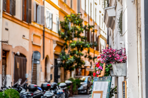 Canvas Prints Illustration Paris Cityscape and generic architecture from Rome, the Italian capital