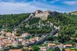 Die Festung Španjola in dem Ort Hvar auf der Insel Hvar in Kroatien