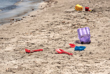 A Child's Losted Plastic Sand ...