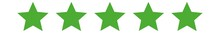 5 Stars Green Eco | Customer Rating | Websites Review