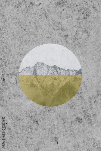 Obraz - motyw gór cz.2 Mountains in the sun