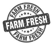 Farm Fresh Stamp. Farm Fresh R...