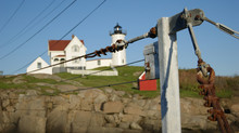 Cable In Front Of Lighthouse A...