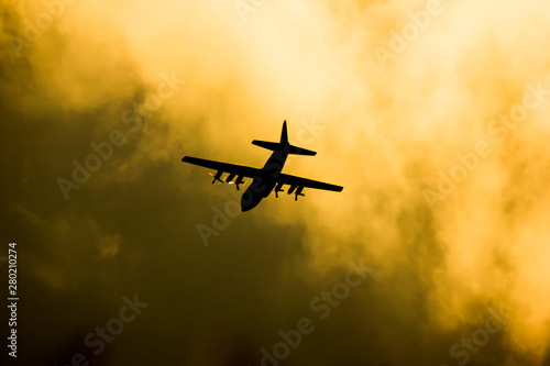 Fotografia  C-130 of Royal Thai Air force