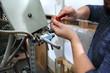 Machine service. Maintenance of the printing machine.