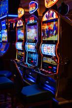 Casino Hall. Las Vegas