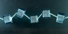 3D Illustration Blockchain Kette