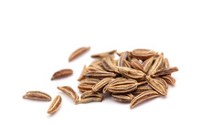 Caraway Isolated On White Background.