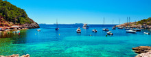 Panorama Of Sailboats At Cala ...