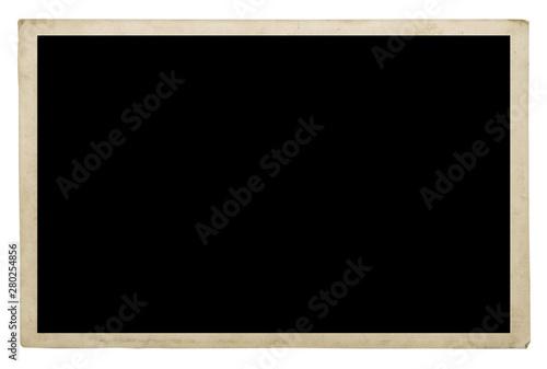 Fototapeta Old photo frame isolated on a white obraz na płótnie