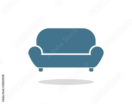 Carta da parati Creative design of sofa illustration