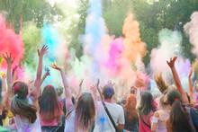 Holi Festival Of Color. Holi C...
