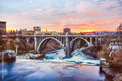 Spokane Bridge Washington