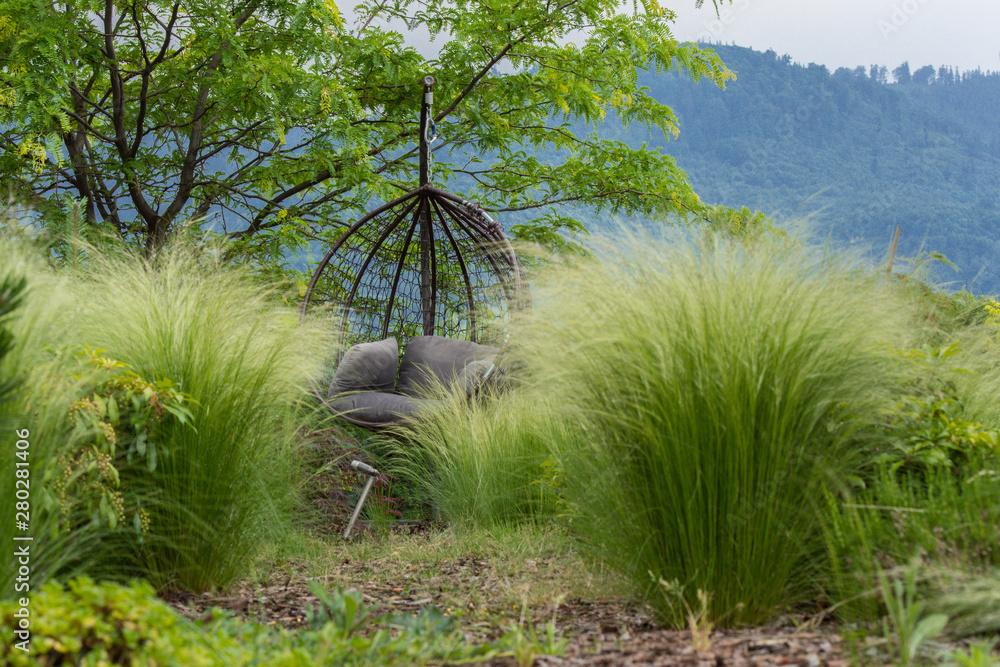 Fototapeta Piękne miejsce wśród zieleni
