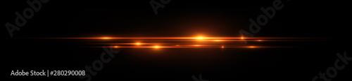Obraz Beautiful light flares. Glowing streaks dark background. Luminous abstract sparkling lined background. .Light effect wallpaper. Elegant style.  Сoncert light - fototapety do salonu
