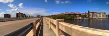 Walkway Across Bridge Over Big...