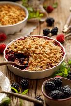 Crumble, Mixed Berry (blackber...